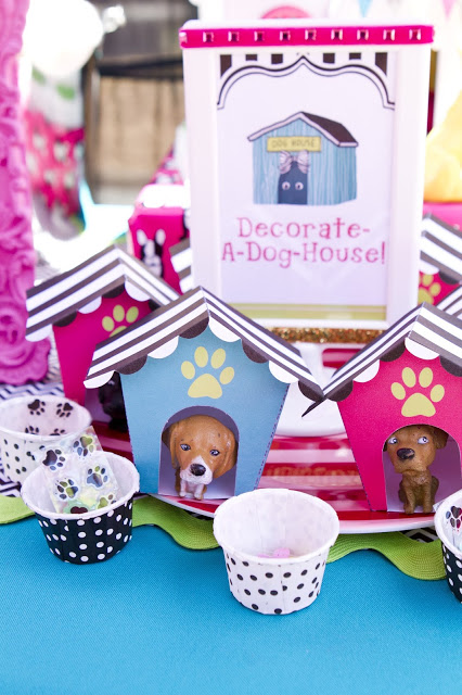puppy parlor party dog houses