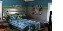 Skateboarding teen room - Design Dazzle