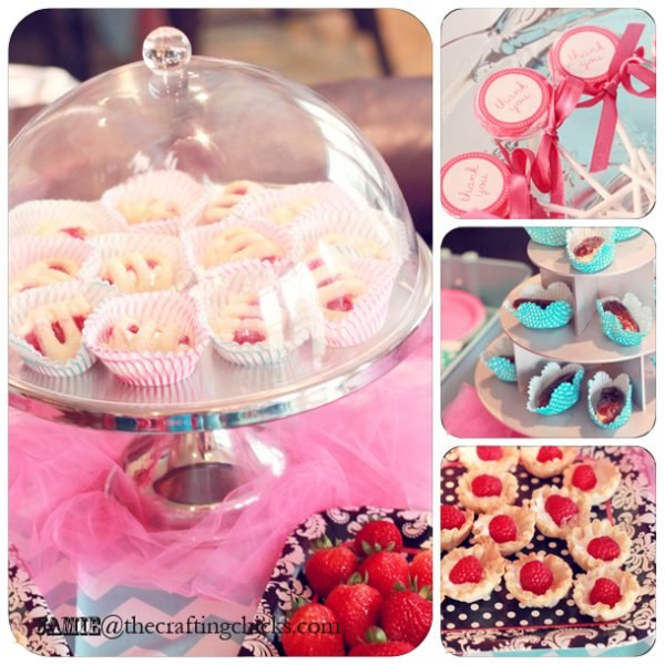 Paris bakeshop party food ideas