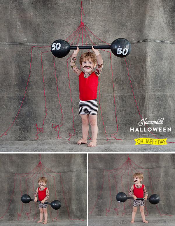 Muscle Man DIY Halloween Costume -- Design Dazzle
