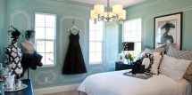 tiffany blue teen girls room ideas - Design Dazzle