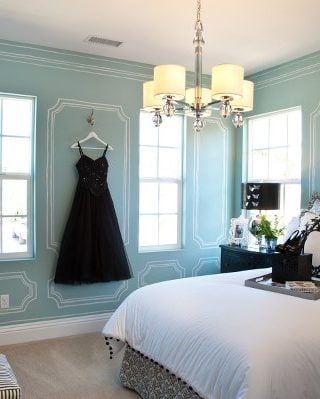 terrific tiffany blue living room ideas | Tiffany blue paint for girls rooms Archives - Design Dazzle