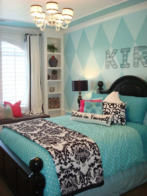 tiffany blue teen girls bedrooms design dazzle. Black Bedroom Furniture Sets. Home Design Ideas
