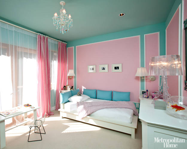 Tiffany Blue Teen Girls Bedrooms -- Design Dazzle