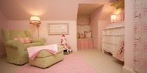 traditional kids pink nursery - Design Dazzle