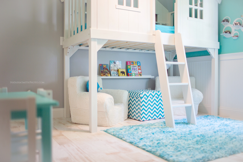 Turquoise Blue And White Boys Room Design Dazzle