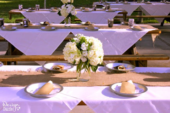 Western Wedding Decorations 3 Nice simple western chic themed