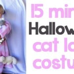 Halloween Cat Lady Costume And Halloween Link Party