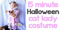 15 minute cat lady Halloween costume - Design Dazzle
