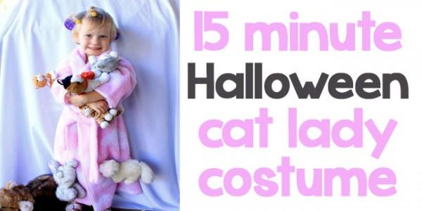 15 minute cat lady Halloween costume - Design Dazzle