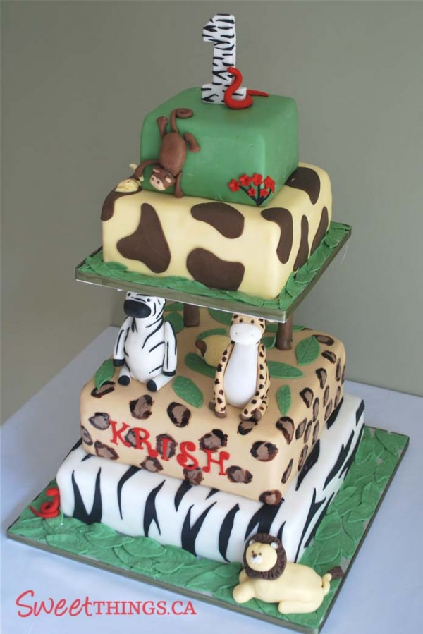 Jungle Cakes -- Design Dazzle