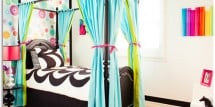 Cool Modern Girls Room