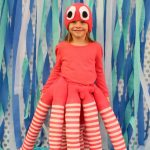 Swimmingly Sweet DIY Octopus Costume