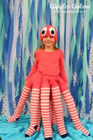 Swimmingly Sweet DIY Octopus Costume