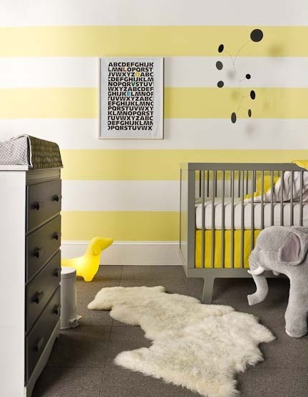 awesome yellow baby nurseries design dazzle