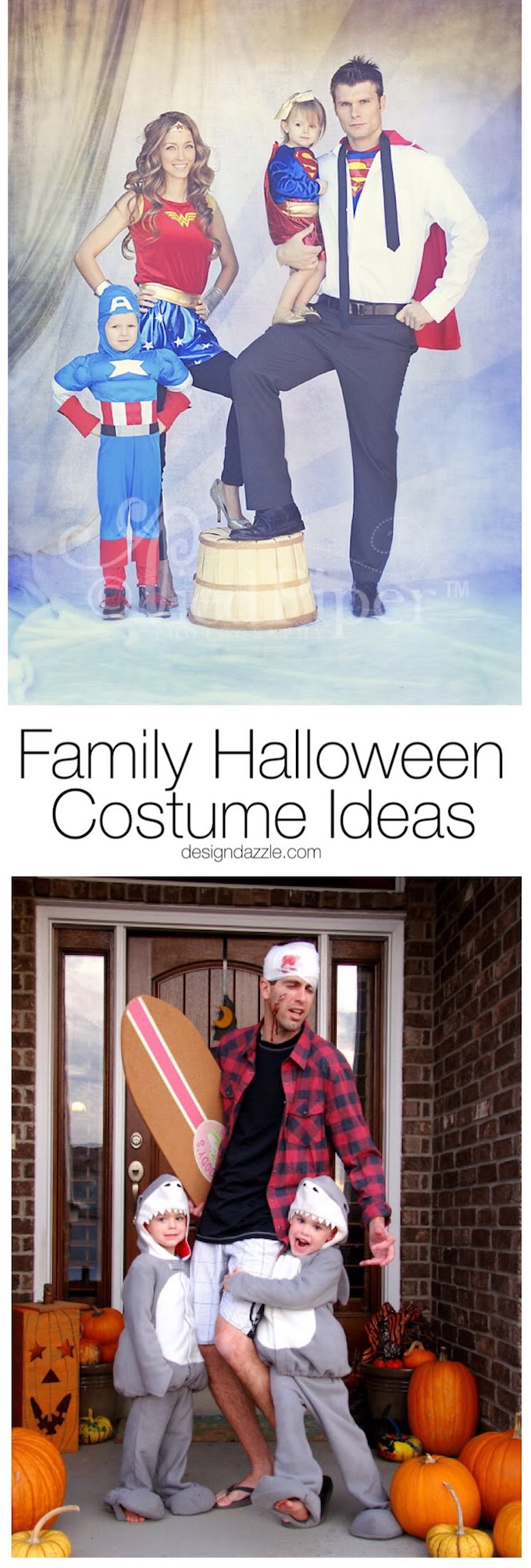 We have some great family Halloween costume ideas for you today, any of which are sure to win you that Halloween costume contest!