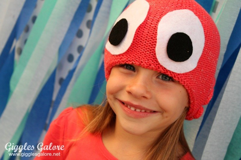diy octopus costume headpiece