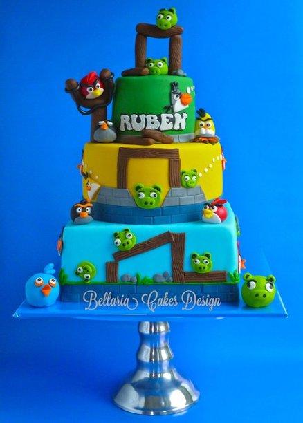 Angry Birds Cakes -- Design Dazzle