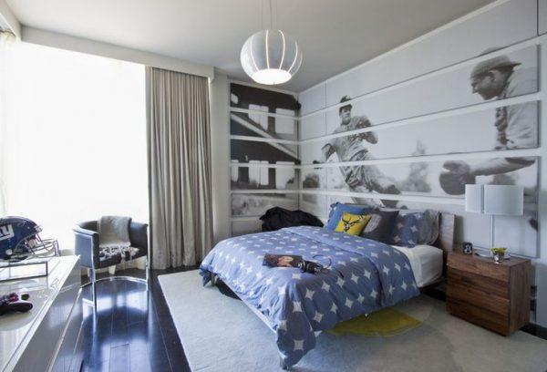 Teen boys room ideas design dazzle for Boys baseball bedroom ideas