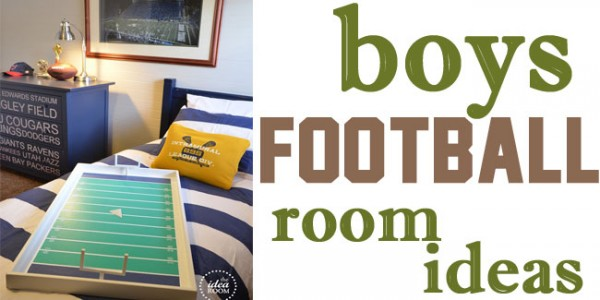 boys football room ideas - Design Dazzle