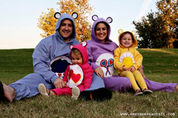 care bears family costume