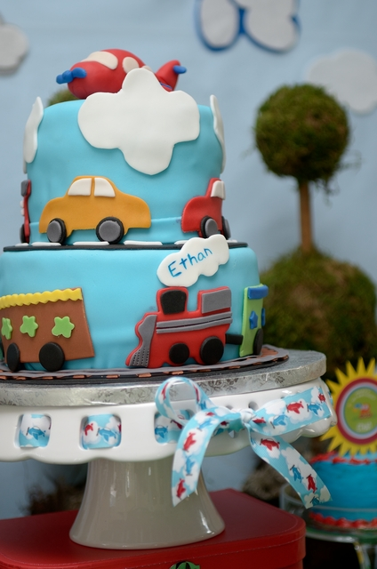Cars, Planes and Trains Cakes -- Design Dazzle