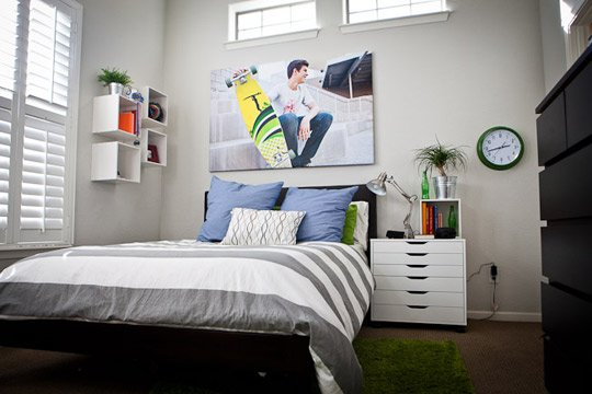 Cool Teen Boy Bedrooms Car Tuning