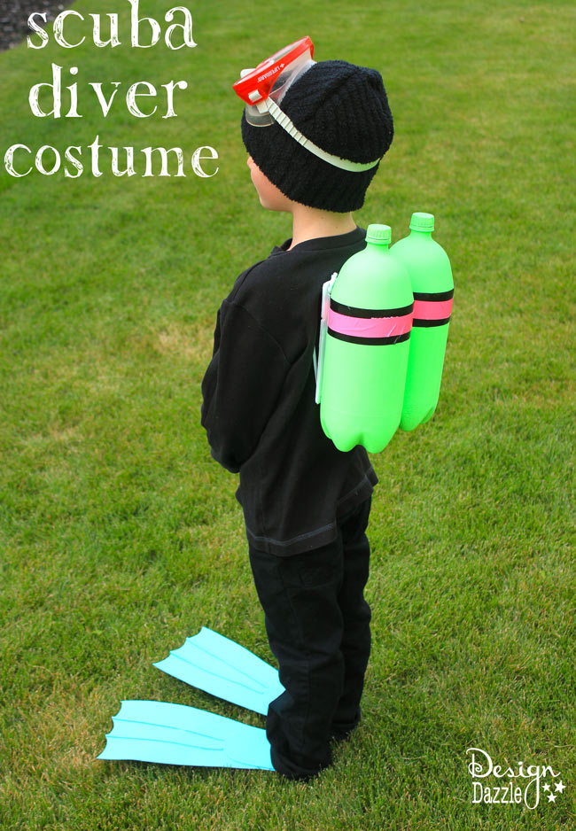 DIY: scuba diver halloween costume - Design Dazzle