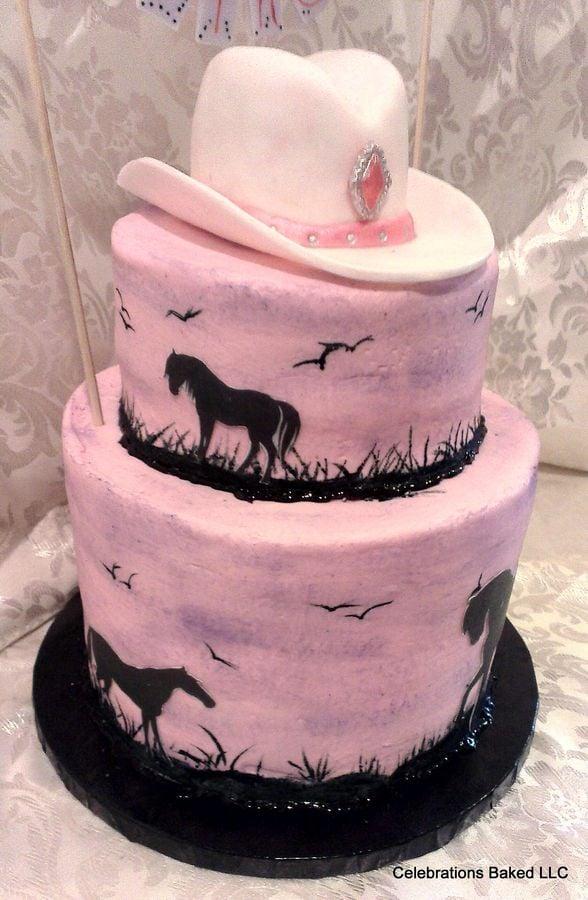 Cowgirl Ice Cream Cake Cake
