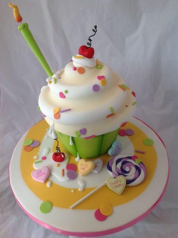Cupcake Cake Design Dazzle