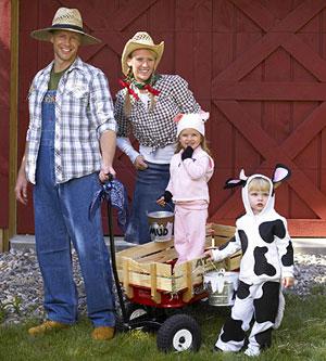 farm family costumes