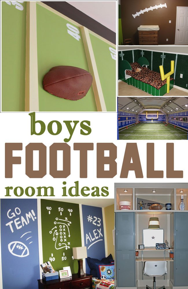 Football room designs joy studio design gallery best for Boys football bedroom ideas