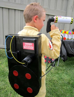 Ghostbusters Costume Diy Proton Pack Design Dazzle