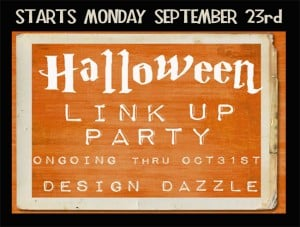 halloween link party- Design Dazzle