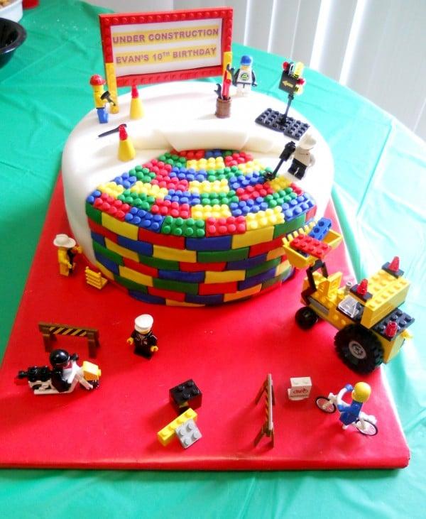 Lego Cake -- Design Dazzle