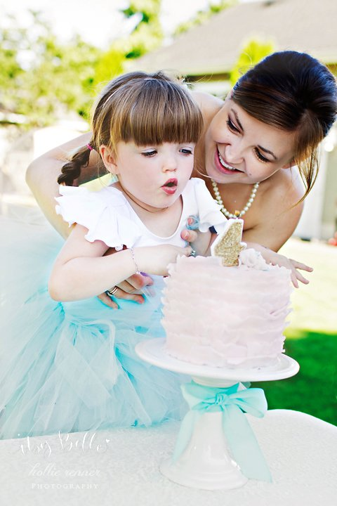 little lamb party birthday girl