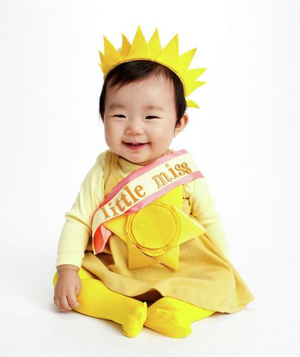 no sew little miss sunshine costume