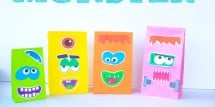 Monster Face Goody Bags