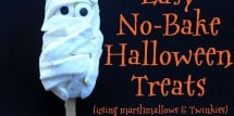 No-Bake Halloween Mummy Treats - Design Dazzle