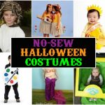 No-Sew Kids Halloween Costumes