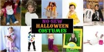 no sew halloween costumes