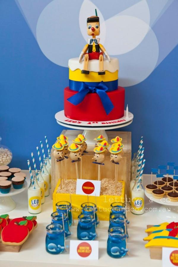 A Classic Pinocchio Party Design Dazzle