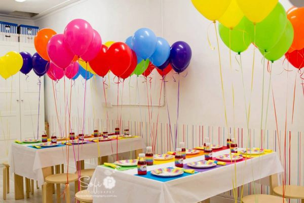 Fun Rainbow Party Design Dazzle