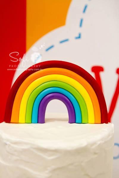 fontant rainbow