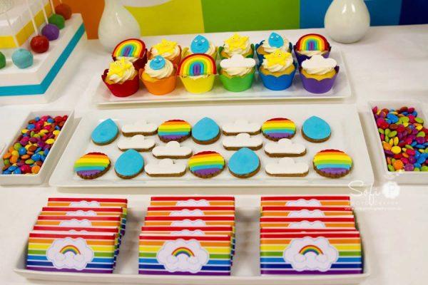rainbow party desserts