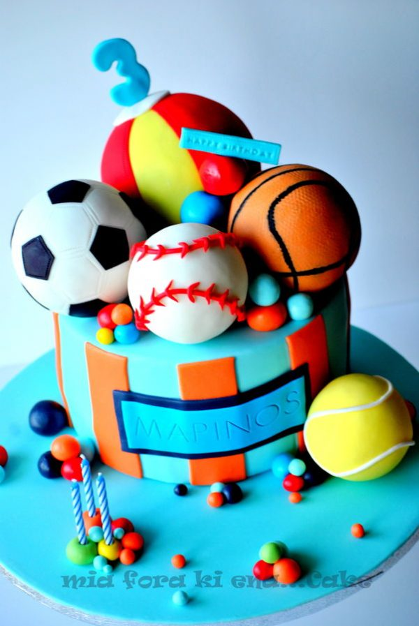 Sports Cakes -- Design Dazzle