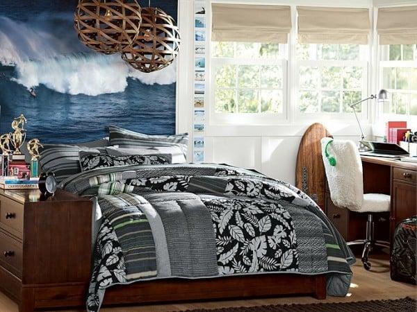 Bedroom Inspiration Navy