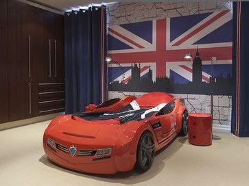racecar teen boys room