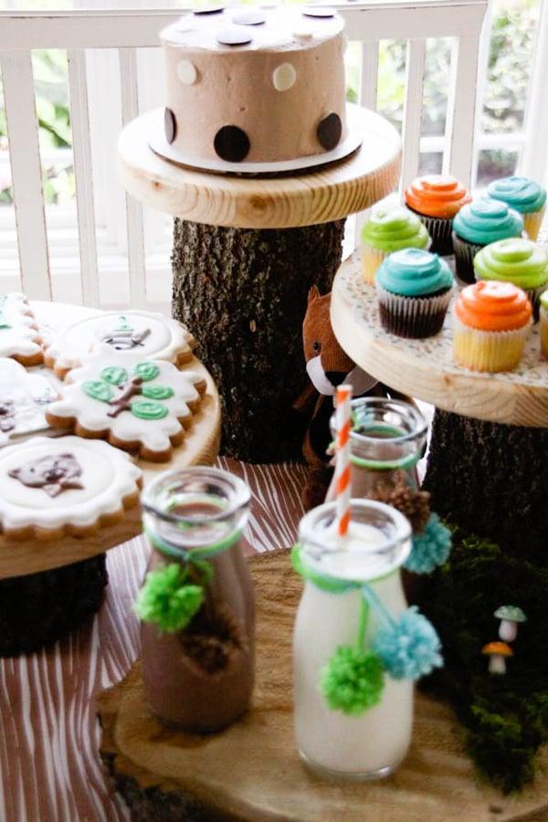 woodland wonder desserts