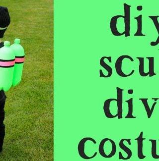 DIY: Scuba Diver Halloween Costume